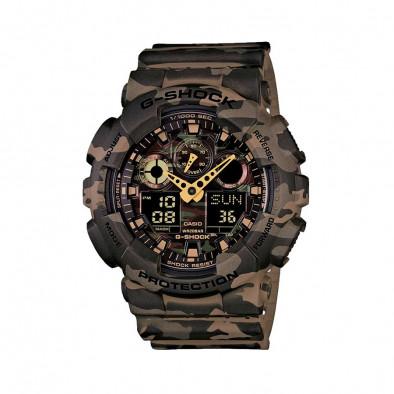 Ανδρικό ρολόι CASIO G-shock GA-100CM-5AER