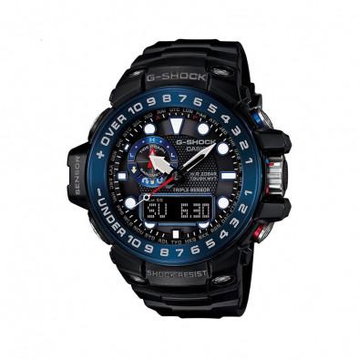 Ανδρικό ρολόι CASIO Gulfmaster G-shock GWN-1000B-1BER