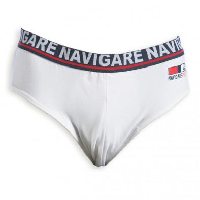 Ανδρικό λευκό σλιπ Navigare Navigare 3