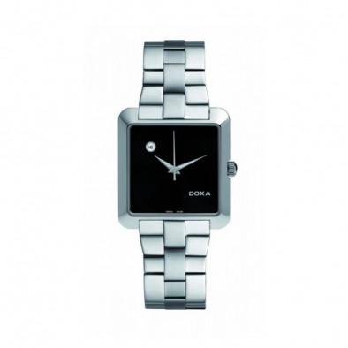 Ανδρικό ρολόι Doxa Grafic Quartz Black Dial