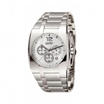 Ανδρικό ρολόι Esprit Quartz Chronograph Silver Dial