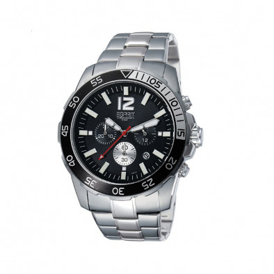 Ανδρικό ρολόι Esprit Quartz Chronograph Black Dial ES102511004