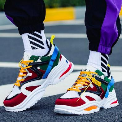 Ανδρικά Chunky πολύχρωμα αθλητικά παπούτσια it270819-1 6