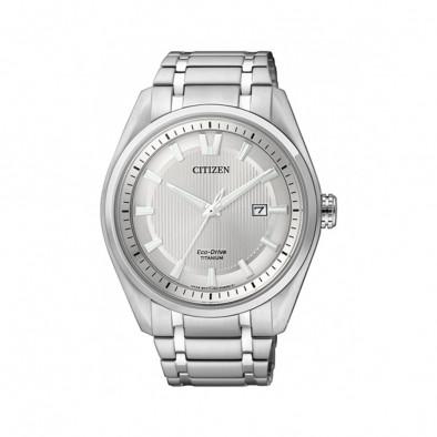 Ανδρικό ρολόι Citizen Silver Dial