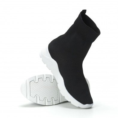 Basic Slip-on γυναικεία μαύρα sneakers  it250119-64 4