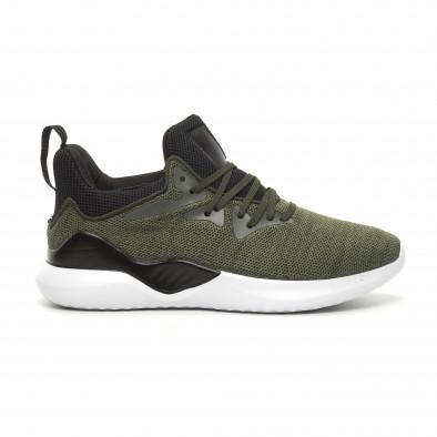 Ανδρικά πράσινα αθλητικά παπούτσια Kiss GoGo it060619-2 2
