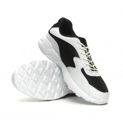 Ανδρικά ελαφριά αθλητικά παπούτσια με χοντρή σόλα  it040619-12 4