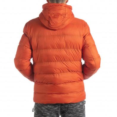 Ανδρικό πορτοκαλί χειμερινό μπουφάν  it051218-69 5