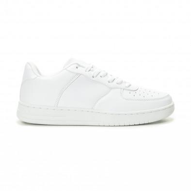 Ανδρικά λευκά sneakers skater μοντέλο it221018-26 2
