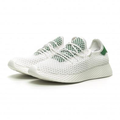 Ανδρικά λευκά αθλητικά παπούτσια Kiss GoGo it230519-7 3