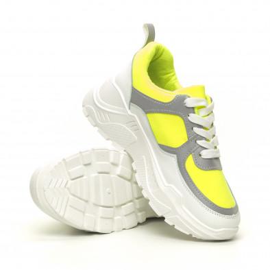 Γυναικεία Chunky πράσινα αθλητικά παπούτσια it050619-60 4