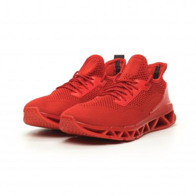 Ανδρικά αθλητικά παπούτσια Knife κόκκινα it050719-1 3