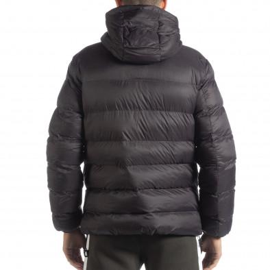 Ανδρικό σκούρο γκρι χειμερινό μπουφάν  it051218-68 4
