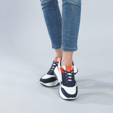 Γυναικεία πολύχρωμα sneakers με πλατφόρμα it250119-49 2