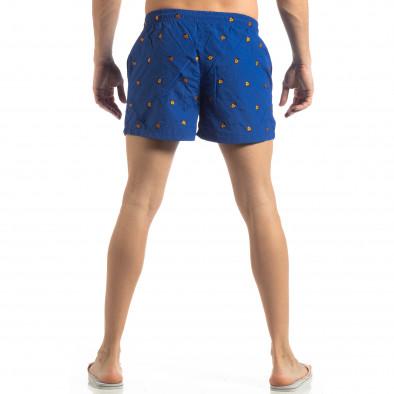 Ανδρικό μπλε μαγιό Ladybug σχέδια it250319-9 3