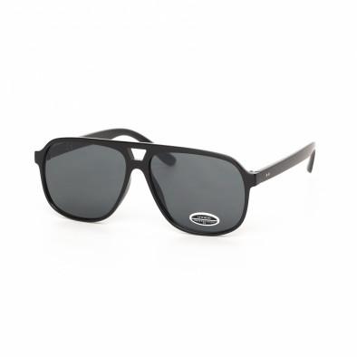 Ανδρικά κλασικά μαύρα γυαλιά ηλίου it030519-39 2
