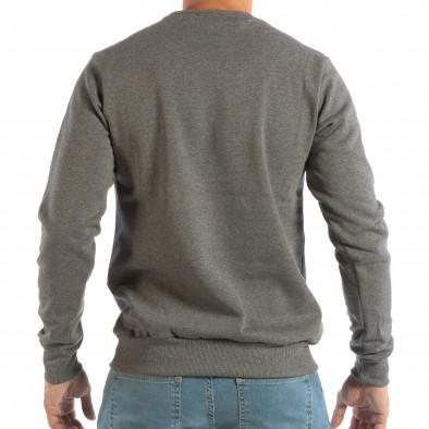 Ανδρική γκρι μπλούζα με στάμπα it240818-144 3