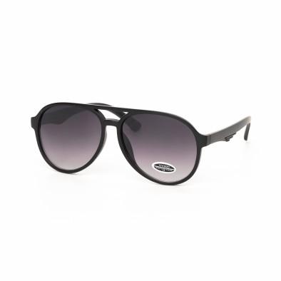 Ανδρικά μαύρα γυαλιά ηλίου it030519-34 2