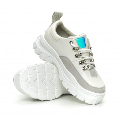 Γυναικεία λευκά αθλητικά παπούτσια   it150319-58 5