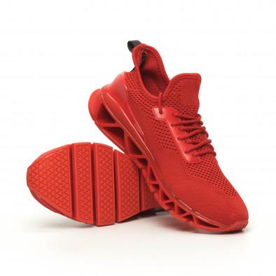Ανδρικά αθλητικά παπούτσια Knife κόκκινα it050719-1 4