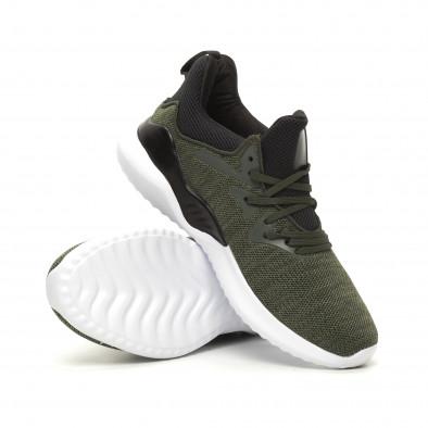 Ανδρικά πράσινα αθλητικά παπούτσια Kiss GoGo it060619-2 4