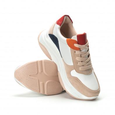 Γυναικεία πολύχρωμα sneakers με πλατφόρμα it250119-48 4