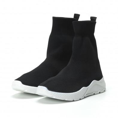 Basic Slip-on γυναικεία μαύρα sneakers  it250119-64 3
