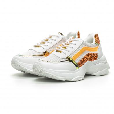 Γυναικεία λευκά αθλητικά παπούτσια Marquiiz it240419-61-1 3