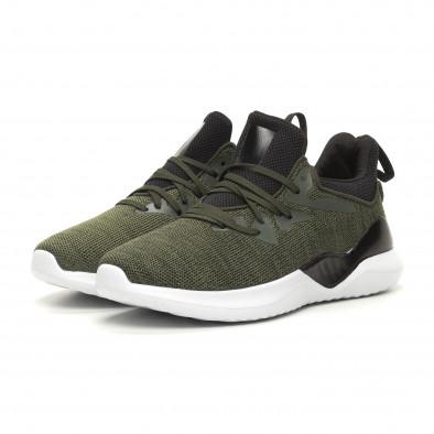 Ανδρικά πράσινα αθλητικά παπούτσια Kiss GoGo it060619-2 3