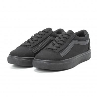 Γυναικεία μαύρα sneakers Old Skool All Black it140918-46 3