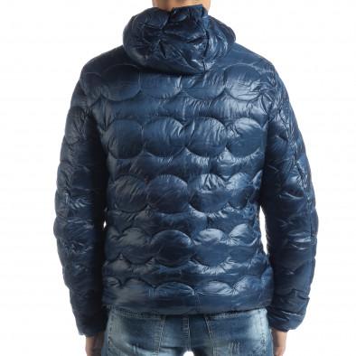Ανδρικό γαλάζιο χειμερινό καπιτονέ μπουφάν   it051218-66 3