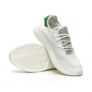 Ανδρικά λευκά αθλητικά παπούτσια Kiss GoGo it230519-7 4