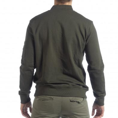 Ανδρικό Πράσινο φούτερ CROPP lp080818-104-1 3