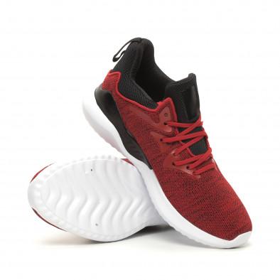 Ανδρικά κόκκινα αθλητικά παπούτσια Kiss GoGo it060619-1 4