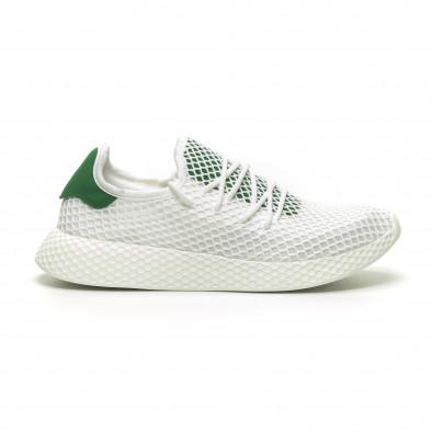 Ανδρικά λευκά αθλητικά παπούτσια Kiss GoGo it230519-7 2