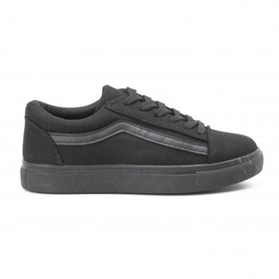 Γυναικεία μαύρα sneakers Old Skool All Black it140918-46 2
