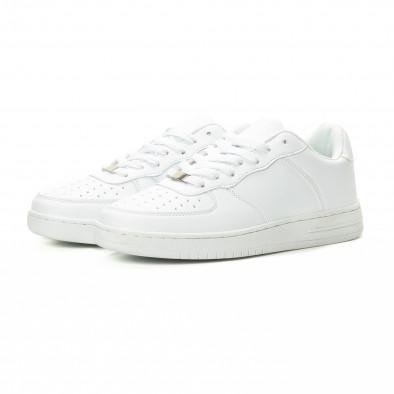 Ανδρικά λευκά sneakers skater μοντέλο it221018-26 3