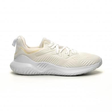 Ανδρικά λευκά αθλητικά παπούτσια FM it200619-2 2