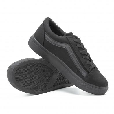 Γυναικεία μαύρα sneakers Old Skool All Black it140918-46 4