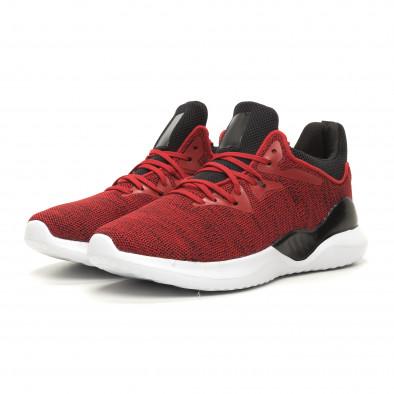 Ανδρικά κόκκινα αθλητικά παπούτσια Kiss GoGo it060619-1 3