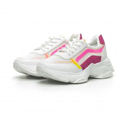 Γυναικεία λευκά αθλητικά παπούτσια Marquiiz it240419-61-2 3