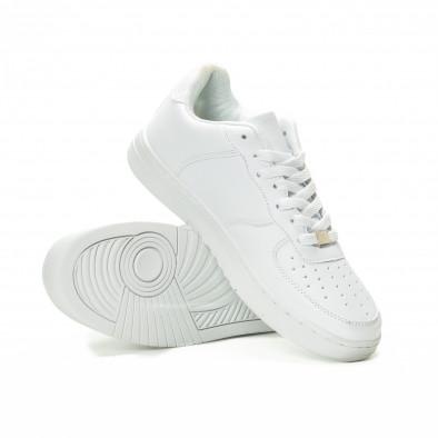 Ανδρικά λευκά sneakers skater μοντέλο it221018-26 4