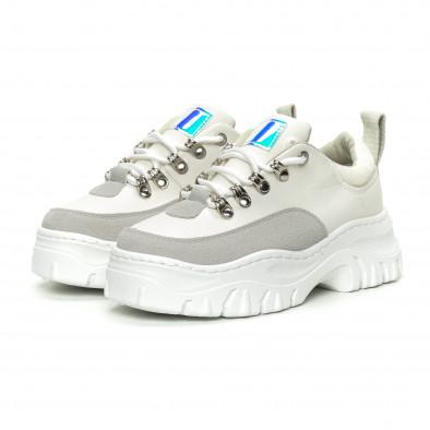 Γυναικεία λευκά αθλητικά παπούτσια   it150319-58 4