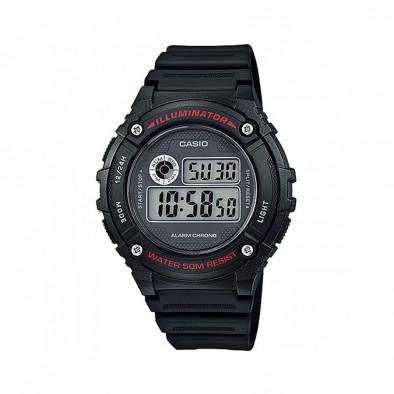 Ανδρικό ρολόι CASIO Collection W-216H-1AVEF