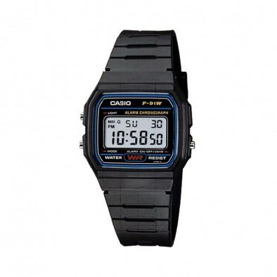 Ανδρικό ρολόι CASIO Collection F91W-1YEF