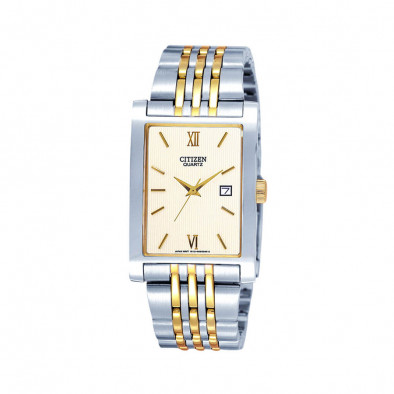 Ανδρικό ρολόι Citizen Quartz Gold Dial Two-Tone Quatz BH1378-50A