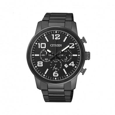 Ανδρικό ρολόι Citizen Chronograph Steel AN8055-57E