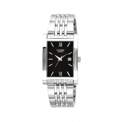 Ανδρικό ρολόι Citizen silver/black analog BH1370-51E