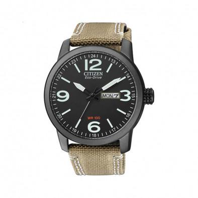Ανδρικό ρολόι Citizen Eco-Drive Black Dial BM8476-23EE