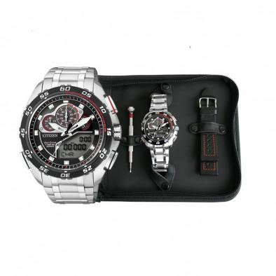 Ανδρικό ρολόι Citizen ECO-DRIVE PROMASTER CHRONOGRAPH JW0124 53E JW0124 53E  3